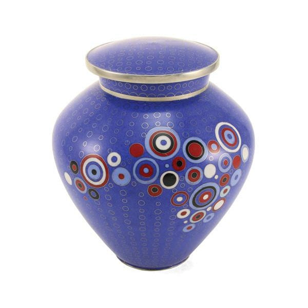Opulence Blue Large/Adult Cremation Urn-Cremation Urns-Terrybear-Afterlife Essentials