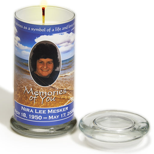 Memories Of You Candle-Cremation Urns-Infinity Urns-Memories of You Candle-Afterlife Essentials