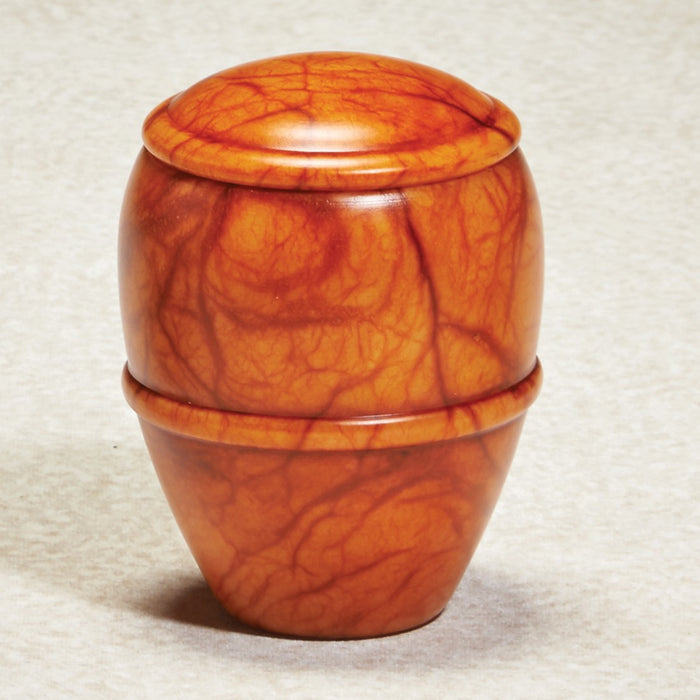 Canyon Sunset Keepsake 9.75 cu Alabaster Stone Cremation Urn