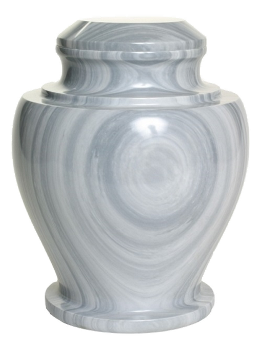 Carpel Galaxy Gray Natural Marble Adult 220 cu in Cremation Urn-Cremation Urns-Bogati-Afterlife Essentials