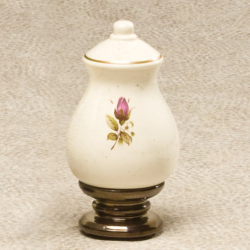 Ceramic Rose Keepsake 15 cu Ceramic Cremation Urn
