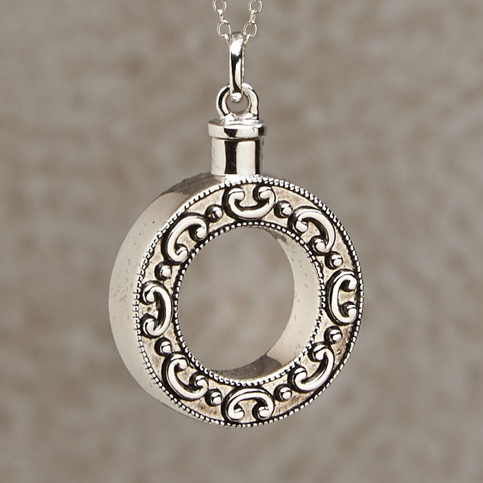 Celebration Of Life Pendant Cremation Jewelry-Jewelry-Infinity Urns-Afterlife Essentials