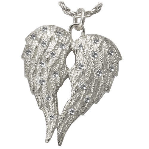 My Angel Double Chamber Pendant Cremation Jewelry-Jewelry-New Memorials-Afterlife Essentials