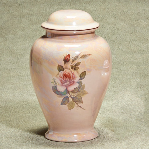 Darlene Ceramic 263 cu in Cremation Urn-Cremation Urns-Infinity Urns-Afterlife Essentials