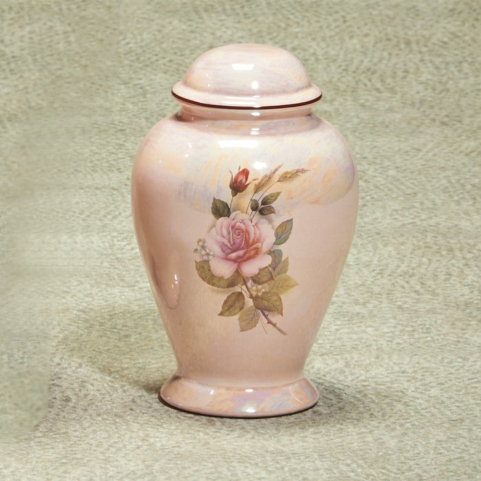 Darlene Ceramic Medium 57 cu in Cremation Urn-Cremation Urns-Infinity Urns-Afterlife Essentials