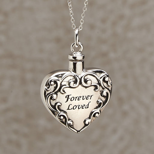 Forever Loved Pendant Cremation Jewelry-Jewelry-Infinity Urns-Afterlife Essentials