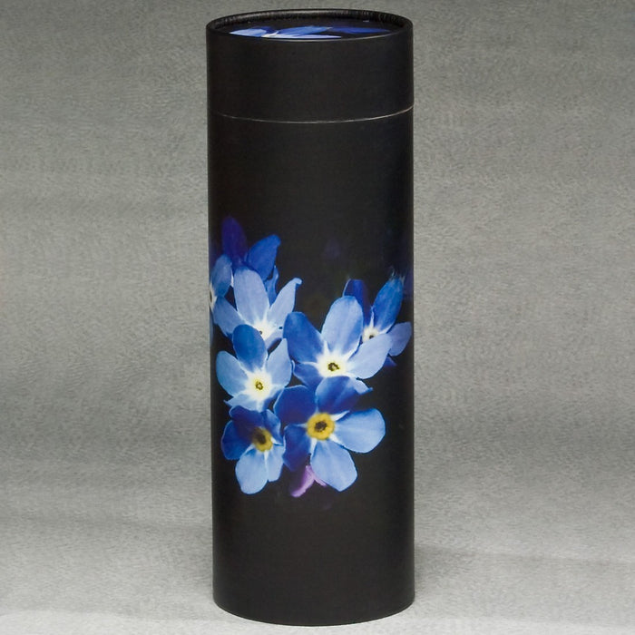 Scattering Tube Series Forget Me Not 200 cu in Cremation Urn-Cremation Urns-Infinity Urns-Afterlife Essentials