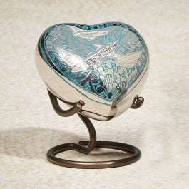 Going Home 5 cu Heart Cremation Urn-Cremation Urns-Infinity Urns-Afterlife Essentials