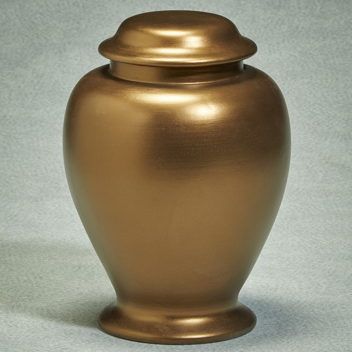 Golden Memories Biodegradable 305 cu in Cremation Urn-Cremation Urns-Infinity Urns-Afterlife Essentials