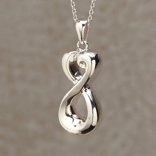 Infinite Love Pendant Cremation Jewelry-Jewelry-Infinity Urns-Afterlife Essentials