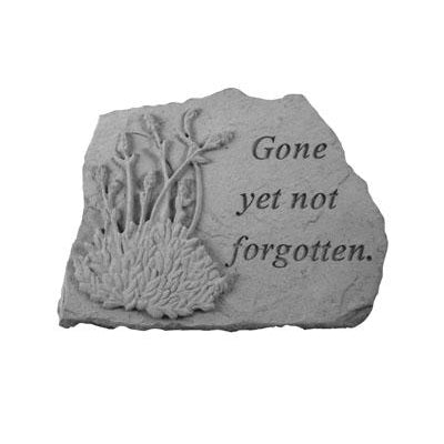 Gone yet not forgotten… w/lavendar Memorial Gift-Memorial Stone-Kay Berry-Afterlife Essentials