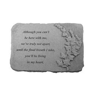 Although you can't… w/ivy Memorial Gift-Memorial Stone-Kay Berry-Afterlife Essentials