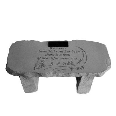 Wherever a beautiful soul… Memorial Gift-Memorial Stone-Kay Berry-Afterlife Essentials