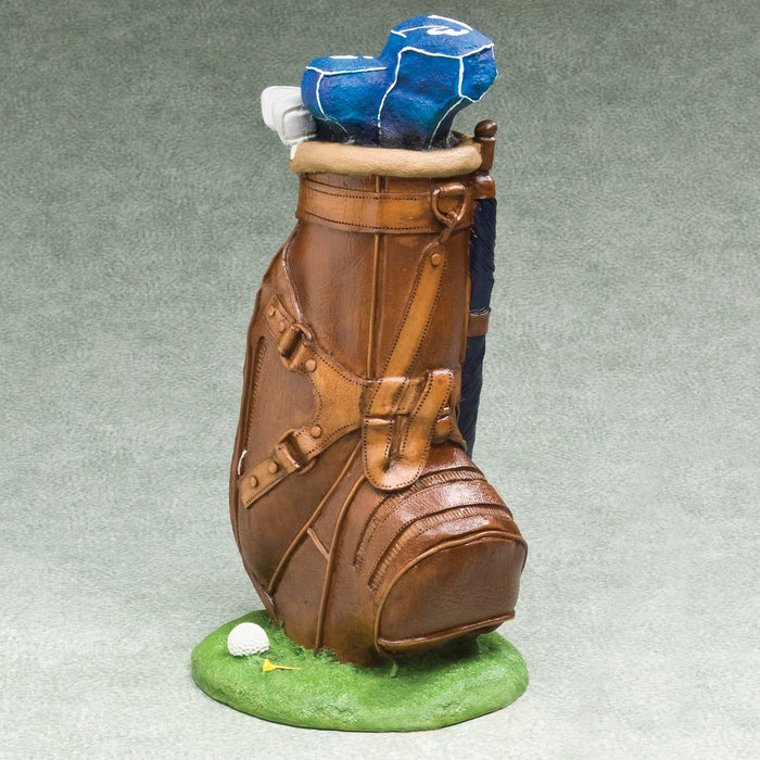 Masters Golf Simulated Leather 228 cu in Cremation Urn-Cremation Urns-Infinity Urns-Afterlife Essentials