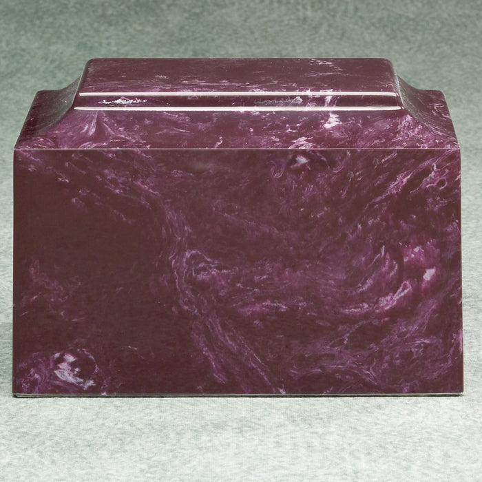 Majesty Merlot Simulated Marble Adult 210 cu in Cremation Urn-Cremation Urns-Infinity Urns-Afterlife Essentials