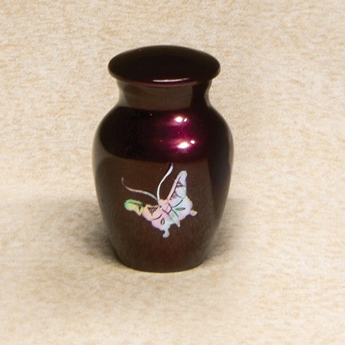 Luminescent Series Butterfly 2.8 cu in Cremation Urn-Cremation Urns-Infinity Urns-Afterlife Essentials