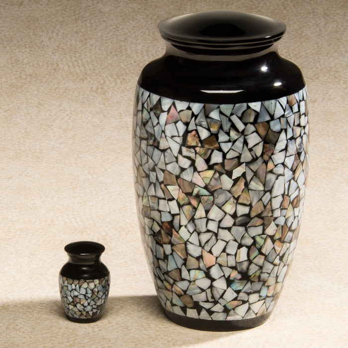 Luminescent Series Mosaic 2.8 cu in Cremation Urn-Cremation Urns-Infinity Urns-Afterlife Essentials