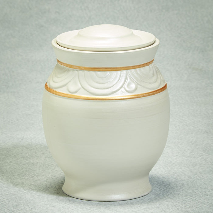 Quiet Moments Biodegradable Adult 185 cu in Cremation Urn-Cremation Urns-Infinity Urns-Afterlife Essentials