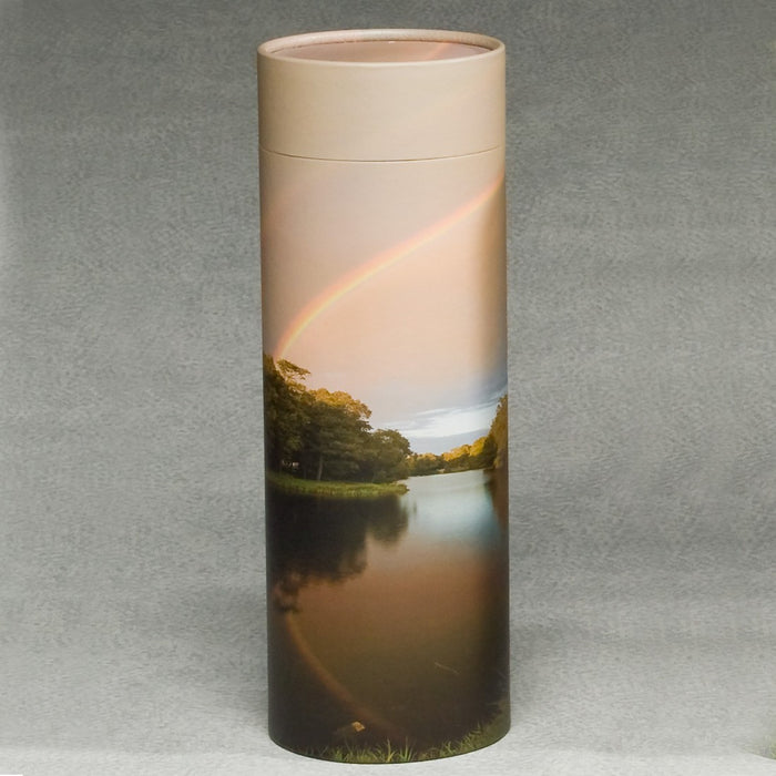 Scattering Tube Series Rainbow 200 cu in Cremation Urn-Cremation Urns-Infinity Urns-Afterlife Essentials