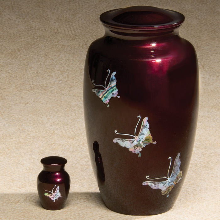 Luminescent Series Butterfly 200 cu in Cremation Urn-Cremation Urns-Infinity Urns-Afterlife Essentials