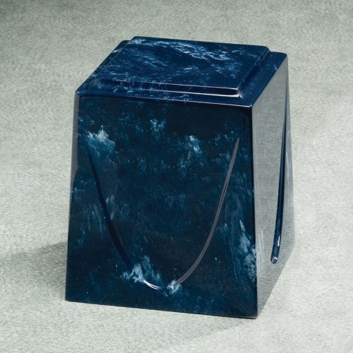 Saturn Navy Simulated Marble Adult 201 cu in Cremation Urn-Cremation Urns-Infinity Urns-Afterlife Essentials