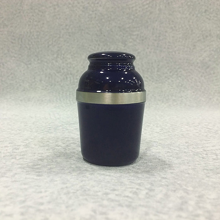Silverado Royal Blue Mini 2 cu in Cremation Urn Keepsake-Cremation Urns-Infinity Urns-Afterlife Essentials