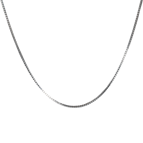 "20"" Stainless Steel Box Chain 1.5 mm Cremation Jewelry-Jewelry-New Memorials-Afterlife Essentials"
