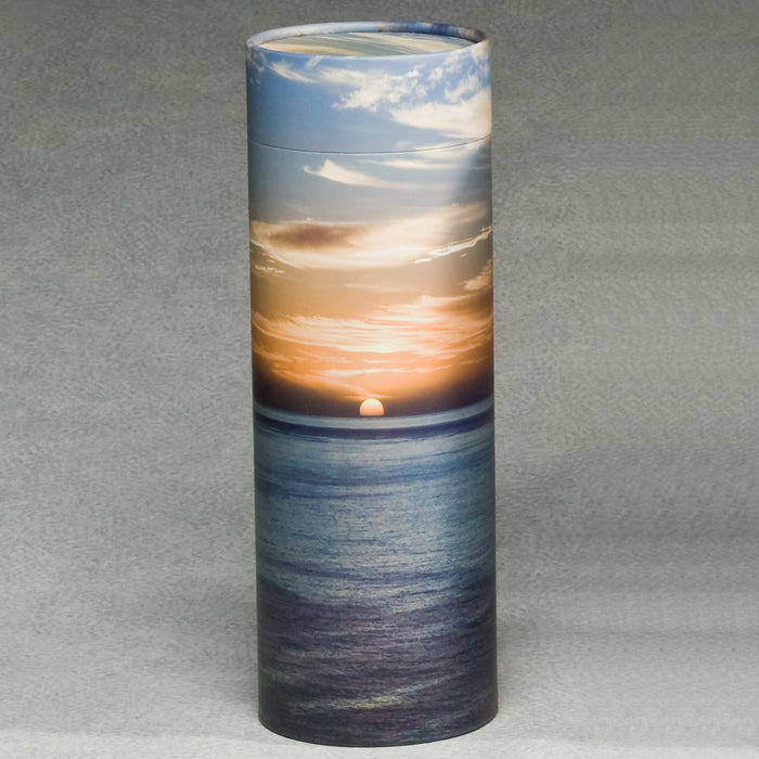 Scattering Tube Series Sunset 20 cu in Cremation Urn-Cremation Urns-Infinity Urns-Afterlife Essentials