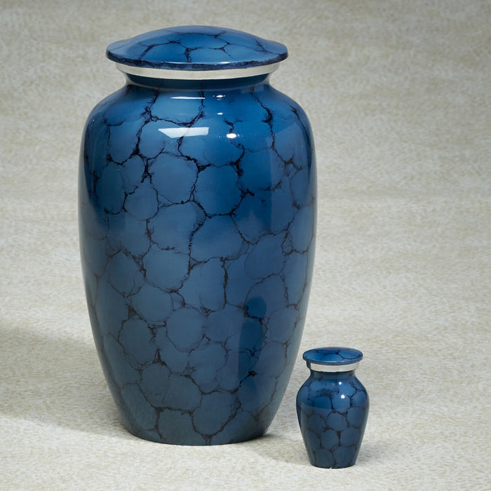 Sunshed Waters Blue 203 cu in Cremation Urn-Cremation Urns-Infinity Urns-Afterlife Essentials
