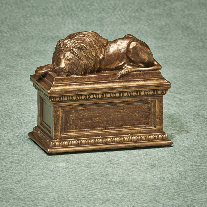 The Grand Simulated Bronze Small 35 cu in Cremation Urn-Cremation Urns-Infinity Urns-Afterlife Essentials