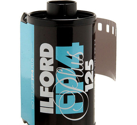 Ilford FP4 Plus Black and White Negative Film | 35mm Roll Film, 24 Exposures