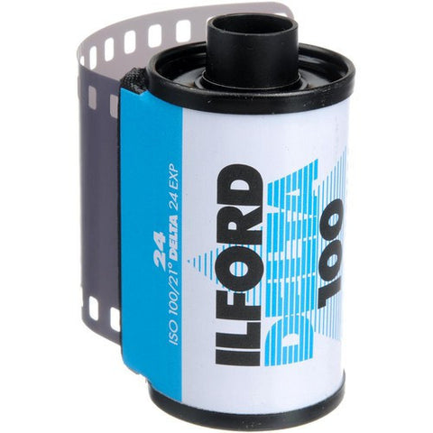 Ilford Delta 100 Professional Black and White Negative Film | 35mm Roll Film, 24 Exposures