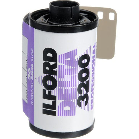 Ilford Delta 3200 Professional Black and White Negative Film | 35mm Roll Film, 36 Exposures