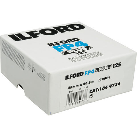 Ilford FP4 Plus Black and White Negative Film | 35mm Roll Film, 100' Roll