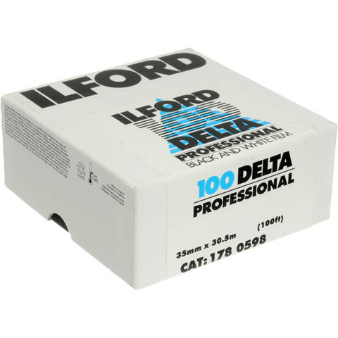 Ilford Delta 100 Professional Black and White Negative Film | 35mm Roll Film, 100' Roll