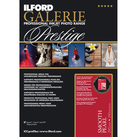 "Ilford GALERIE Prestige Smooth Pearl (4 x 6"" - 100 Sheets)"
