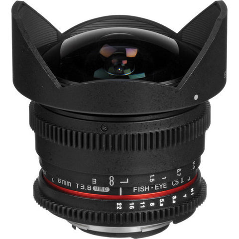 Samyang | 8mm T3.8 UMC Fish-Eye CS II Lens