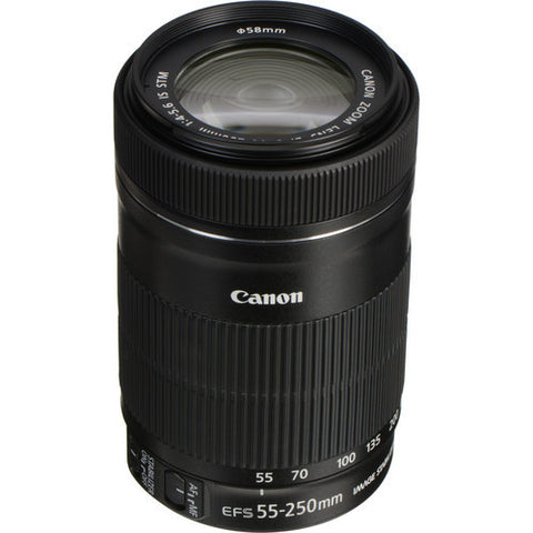 Canon | EF-S 55-250mm f/4-5.6 IS STM Lens
