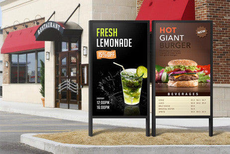 OHF Series Outdoor Signage Solution Captivate viewers with excellent visibility and optimum level of durability