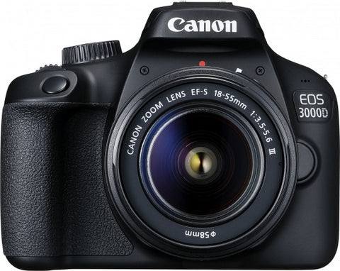 Canon EOS 3000D DSLR Single kit with EFS18-55 III Kit