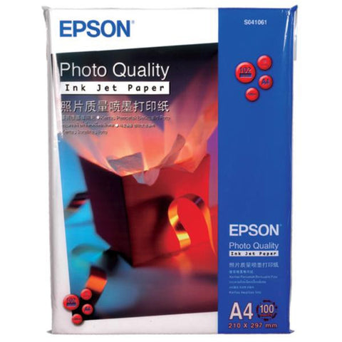 Epson | A4 Photo Quality Ink Jet Paper S041786