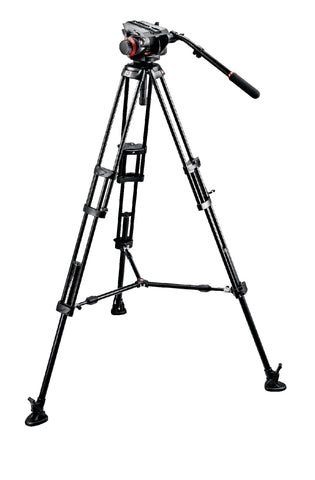 Manfrotto Heavy Duty Video Tripod Kit (504HD Head and 546B Legs)