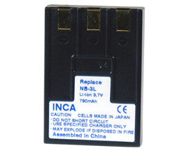 Inca | Battery Replacement Canon NB-3L