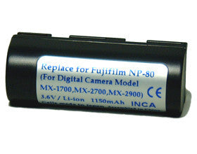 Inca | Fuji Battery Replacement NP-80 (740814)