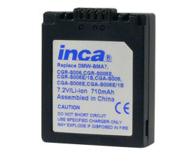 Inca | Panasonic Battery 740844 (CGA-S006E)