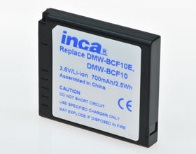Inca | Panasonic Battery 780254 (DMW-BCF10E)