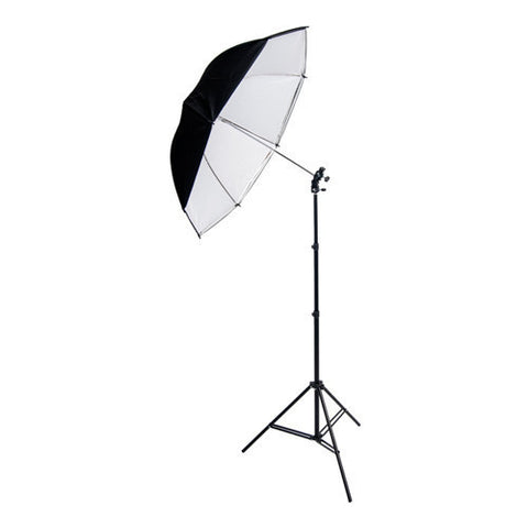 Inca iLK1 Light Stand & Umbrella Kit (for speed light flashes)