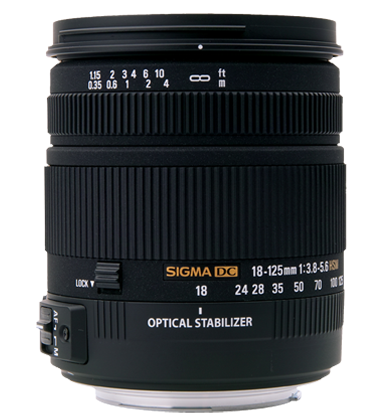 Sigma 18-125mm F3.8-5.6 DC HSM | PTX