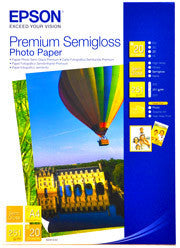 Epson | A4 Premium Semigloss Photo Paper - 20 Sheets (251gsm)