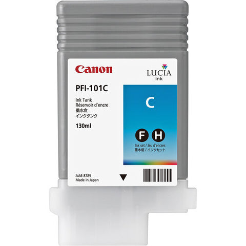 Canon | PFI-101C Cyan Ink Tank (130 ml)